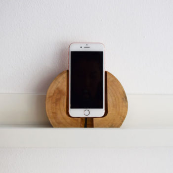 Wooden Phone Dock