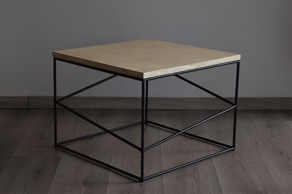 Minimal Frameless Coffee Table